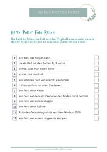 Meine Geburtstagsparty Vorbereitung | Thema Harry Potter Marauders Map Einladung Karte des Rumtreibers Einladung  Foto Rallye Quidditch