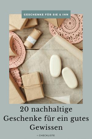 20 nachhaltige Geschenke für ein gutes Gewissen Weihnachtsgeschenk geschenk