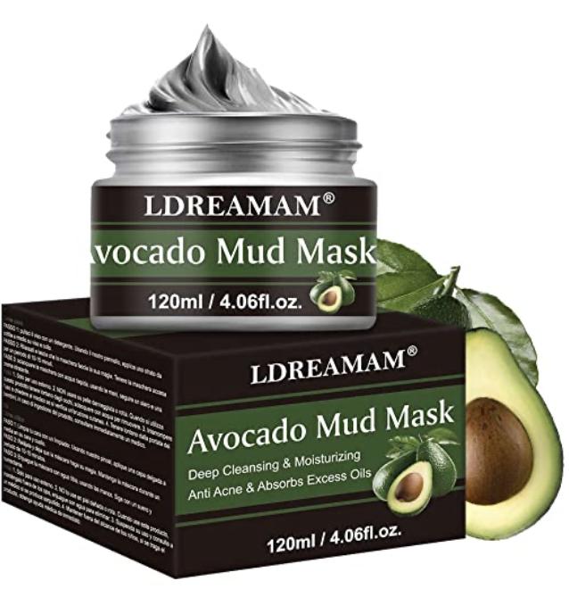 Gesichtsmaske Avocado, Bildquelle Amazon.de