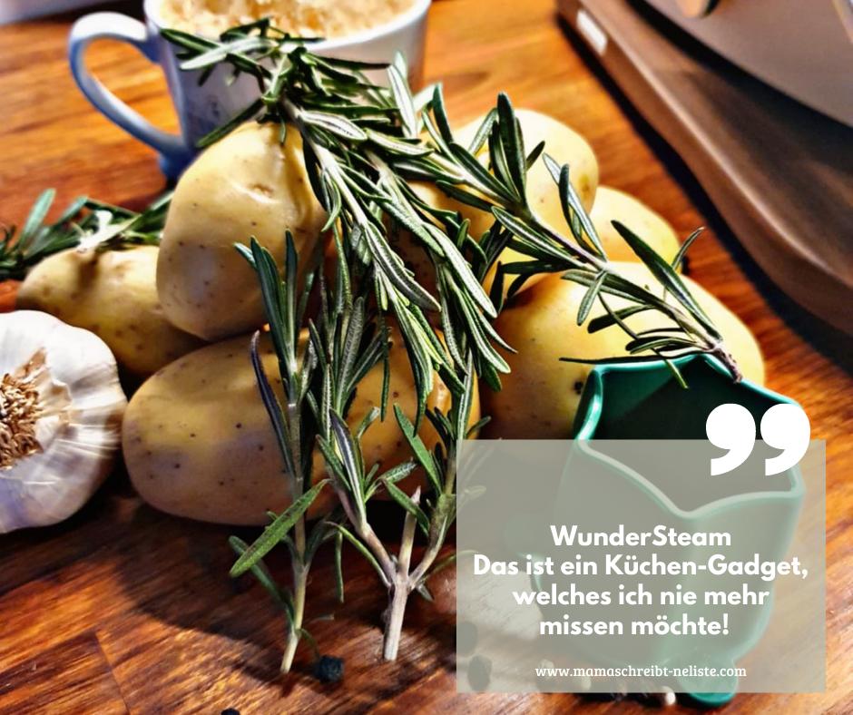 Der WunderSteam von Wudnermix ist ein Küchen Gadget/ Hack für den Thermomix, viel größere Mengen, Garen, Varoma, dampfgaren, kochen, Kamin, Rezepte, top 5