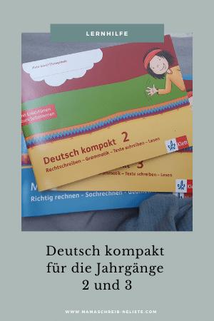 deutsch und Mathematik klett kompakt 2 und 3 klasse