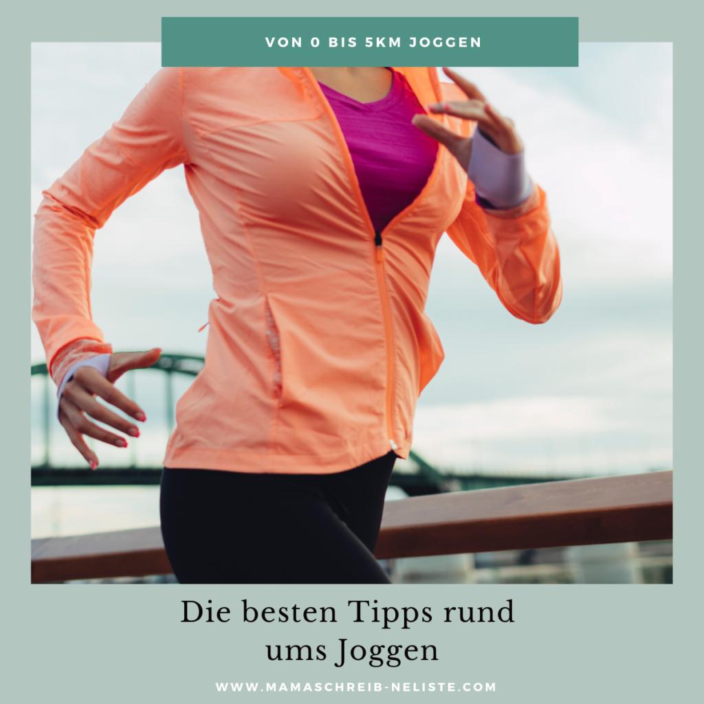 5 hilfreiche Tipps zum Joggen lernen