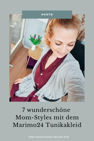 7 wunderschöne Mom-Styles mit dem Marimo24 Tunikakleid