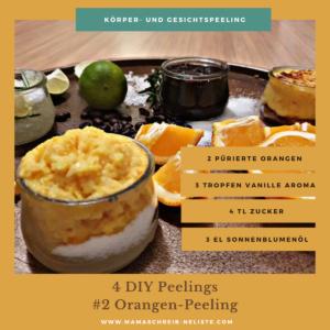 Orangen-Peeling Die perfekte Wellness-Oase für Zuhause, Entspannung, Ruhe, Balance, deine Auszeit als Mama, DIY Peeling, Orangen Peeling, Kaffee-Peeling, Badekissen, Badezusatz, Musst Waves, #1: Stimmung durch Kerzenschein und Tablett #2: Die perfekte Wellness-Playlist #3: Mehr als komfortabel - mein Badesofa #4: Naturkosmetik für die Haut - meine Top 4 Körper-Peelings #5: Aufgepimptes Wasser #6: Geschmeidigkeit dank Kokosmilch und Kaffeesatz