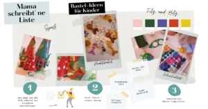 Bastel-Ideen für jede Jahreszeit ( Lockdown) Mama schreibt 'ne Liste