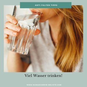viel trinken Wasser dr Scheller anti age tipp
