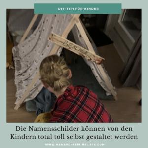 Tipp zum Stoff: Hätte der Geburtstag stattfinden können, hätten wir mit jedem Kind als Mitgebsel ein DIY-Zelt 🏕 gebaut und sie entsprechend darin schlafen lassen. Dann hätte ich mich aber auch für die 1,33€ Meterware in weiß von IKEA entschieden, damit die Kinder die Zelte noch mehr individualisieren und beliebig bemalen können. Die Namensschilder können auch so gestaltet werden, wie die Kids es möchten.