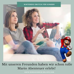 Mama schreibt 'ne Liste Nintendo Switch Spiele im Familientest RingFit Spieleabend mit der Familie