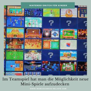 Mama schreibt 'ne Liste Nintendo Switch Spiele im Familientest RingFit mini spiele Mario Party