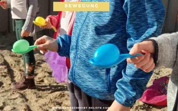 Mehr Bewegung – 6 In- & Outdoor-Spiele für (Klein)-Kinder!
