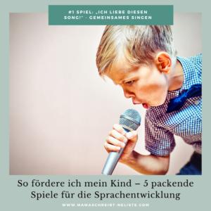 """#1 Spiel: """"Ich liebe diesen Song!"""" - Gemeinsames Singen Sprachentwicklung beim Kind Vorsorgeuntersuchungen Spiel Simon und Jan Erzählt euch mehr"""