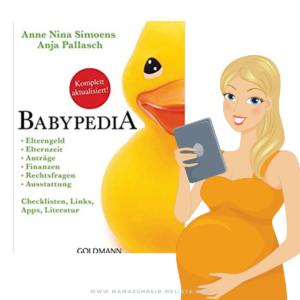 Babypedia Buch Tipp Schwangerschaft
