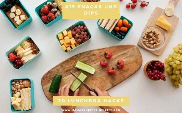Snacks und Dips