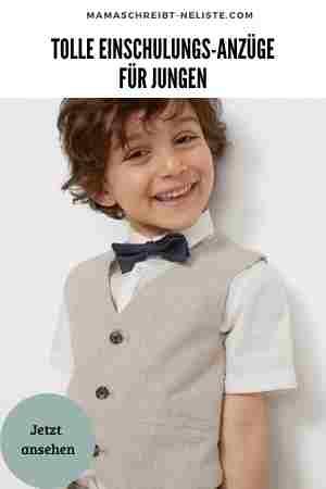 Einschulung Anzug für Jungen
