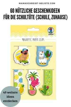 60 nützliche Geschenkideen für die Schule, den Schulweg und für Zuhause Schultüte Inhalt Geschenkideen für Kinder Erste Klasse Einschulung