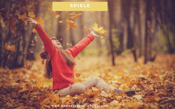 Was tu ich nur im Herbst? 25 Kinderspiele-Ideen für Drinnen und Draußen