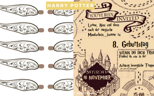 Harry Potter party Planung