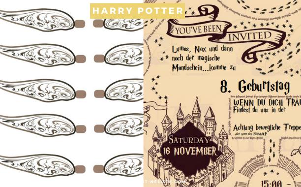 Meine Geburtstagsparty Vorbereitung | Thema Harry Potter (inkl. Video)