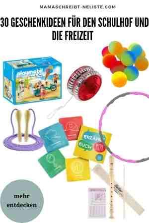 30 Geschenkideen für den Schulhof und die Freizeit - Alles zum Thema Spiel & Spaß Einschulung Schultüte