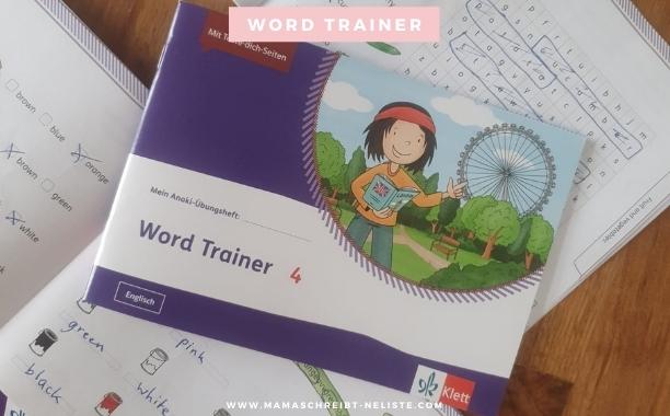 word trainer Ernst Klett verlag englisch zuhause lernen einfach spaß