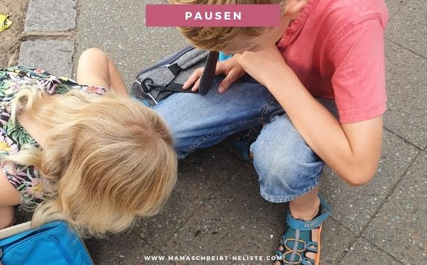 Autofahrt kinder reisen mit dem auto Jako-O Handgepäck, Koffer, Pausen
