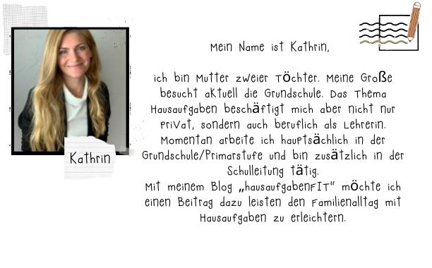Einen lieben Dank an die Gast-Authorin Kathrin für diesen wundervollen Beitrag auf auf Mamaschreibt-neListe.com - Springt einfach mal rüber auf HausaufgabenFIT.de und verändert mit Kathrin's Hilfe nachhaltig eure Hausaufgabenstunden und somit auch das Familien-Klima Zuhause.