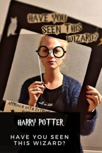 Foto-Booth Harry Potter Party