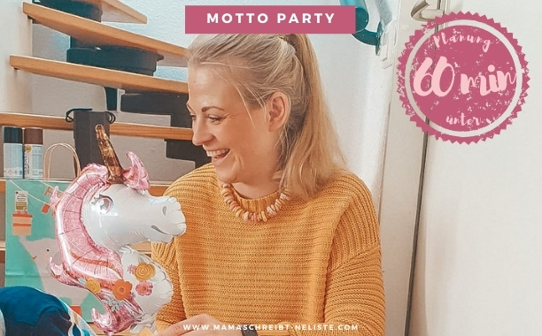 Kindergeburtstag: so planst du einen Motto-Geburtstag in nur 60 Minuten!