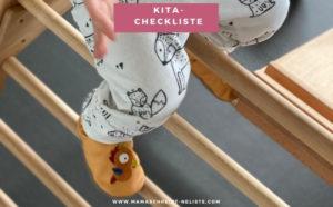Deine Kita-Start Checkliste: Das braucht dein Kind wirklich