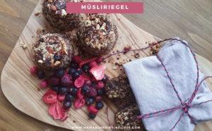 Mein 3 in 1 Müsli-Riegel Rezept: Snack, Frühstück und Ersatz-Mahlzeit kombiniert