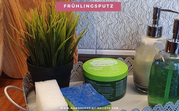 Putzen mit dem Universalstein: 5 Tipps für einen nachhaltigen Frühlingsputz im Herbst