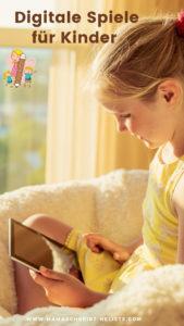 Unseren Kids haben zudem digitale Spiele für den Laptop, das Tablet und die Spiele-Konsole*, aber auch hier achten wir auf altersgerechte und vor allem gewaltfreie Spiele. Zwar ist beispielsweise das PS4 Spiel Bibi und Tina * ab 0 - unsere Maus wird es aber sicherlich erst zum 6. Geburtstag geschenkt bekommen. Sie sehen wie wir zwei ständig am Laptop arbeiten, sodass wir sie Stück für Stück an die digitale Welt heranführen müssen. Lieber spielen sie neben uns ein Spiel inkl. Anleitung, als es bei Freunden dann ggf, sogar heimlich zu tun. Viele Spiele dienen oft auch als Lernspiel und machen trotzdem Spaß. Zu den Favoriten unserer Kinder gehören: